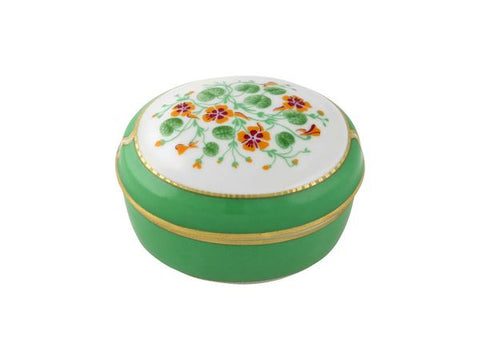 Jewellery box Oval Nasturtium