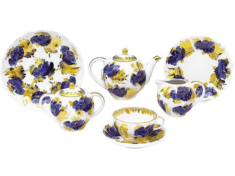 Tea Set Tulip Golden Garden 6/20
