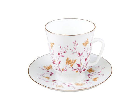 "Cup & Saucer  May ""Pink Springs"" 1/2"