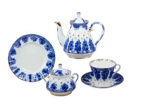 Tea set Radiant Basket 6/20