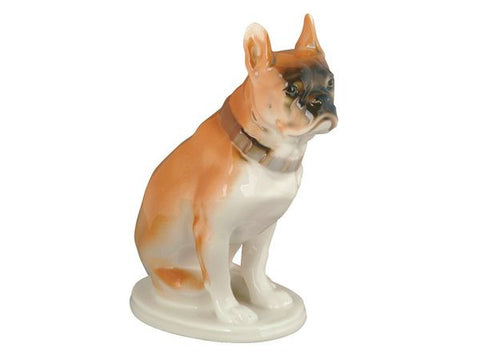 Porcelain Dog Figurines Bulldog