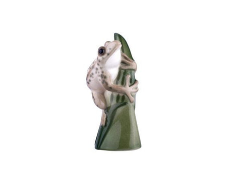 Frog on a leaf Marble