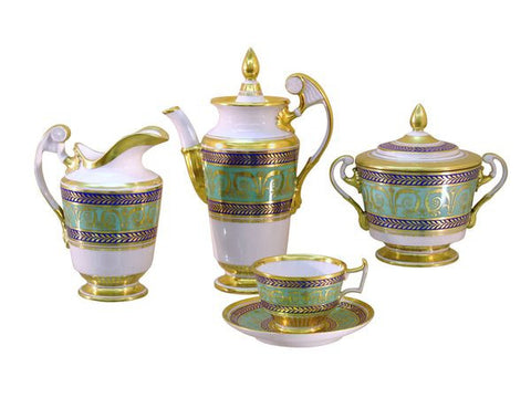 Coffee set Golden Alexandria  6/21