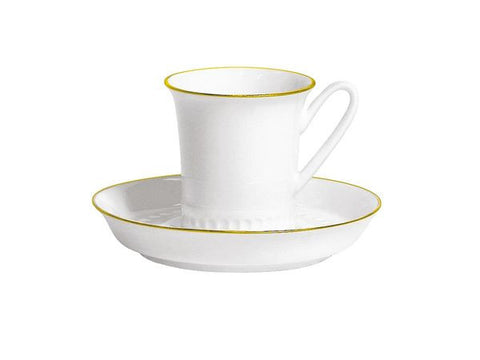 Cup & Saucer Vertical Gold Slips 1/2