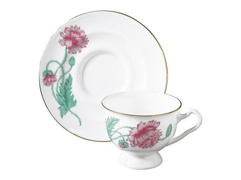 Cup & Saucer Isadora Olimpia Poppy 1/2