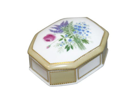 Jewellery box Faceted Lupines