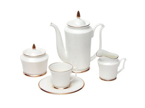 Coffee set Julia The Golden Rim 6/15