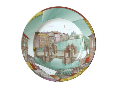 The Gift set Decorative plate Mazarin The Fontanka River