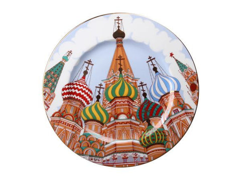The Gift set Decorative plate Mazarin St. Basil's Cathedral