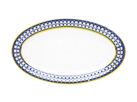 Oval Dish European Classic of St.Petersburg ∅ 240