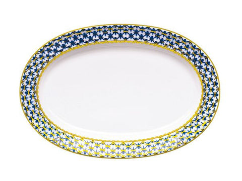 Oval Dish Youth Cobalt Net ∅ 350