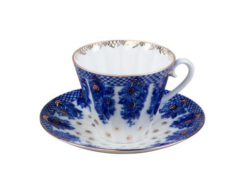 Tea cup & saucer Radial Basket 1/2