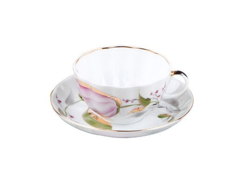 Tea cup & saucer Tulip Rose Tulips 1/2