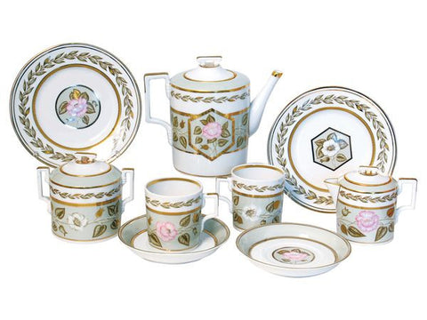 Tea set Heraldic Nephrite Background 6/20