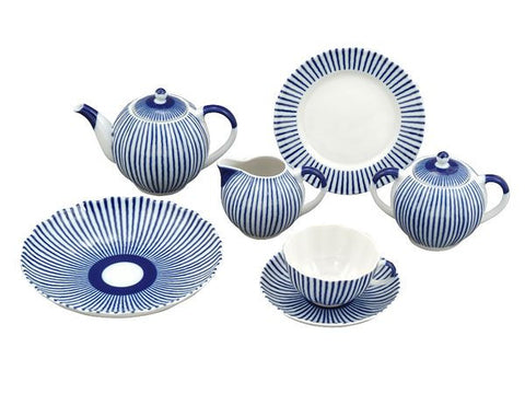Tea set Tulip Ripples 6/20