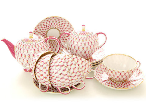 Tea set Tulip The Net-Blues 6/20