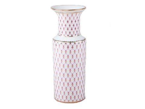 Vase Cylinder Net-Blues