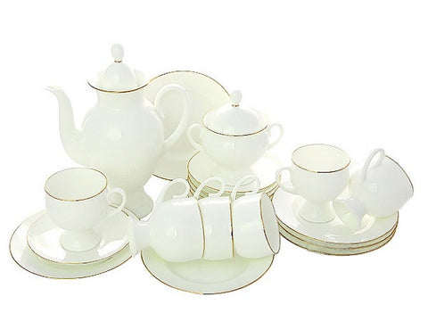 Coffee set  Golden Ribbon 6/20
