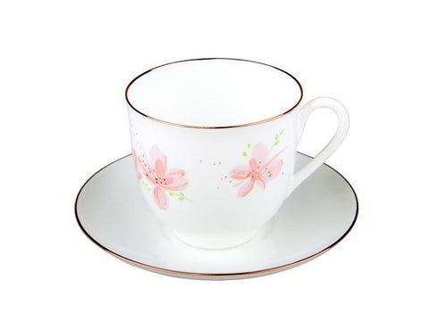 Cup & Saucer Lily of the Valley The Rose Flowers 1/2
