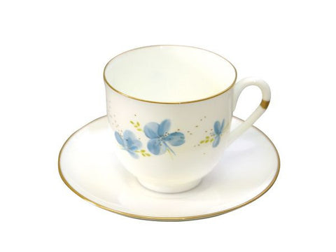 Cup & Saucer Lily of the Valley The Blue Flowers 1/2