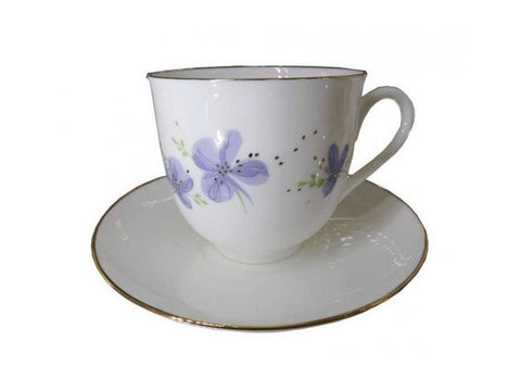 Cup & Saucer Lily of the Valley The Lilac Flowers 1/2