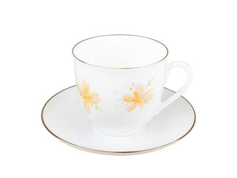 Cup & Saucer Lily of the Valley The Yellow Flowers 1/2