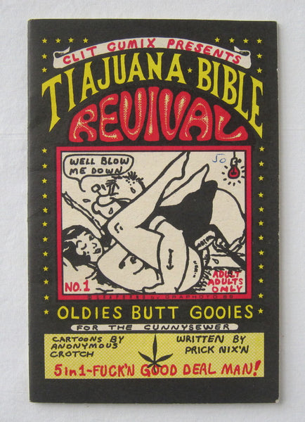 Tiajuana (Tijuana) Bible Revival, No. 1