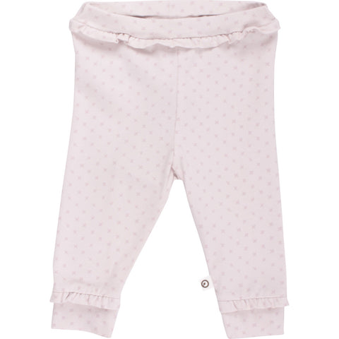Müsli cross frill pants, Light rose