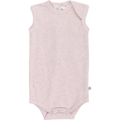 Müsli cozy me sleeveless body, Rose melange