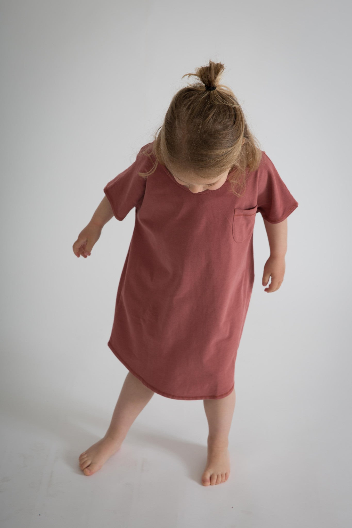 Gray Label oversized tee dress, rouge