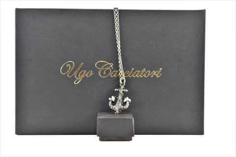 COLLANA DOT ANCHOR CON PERLE NATURALI