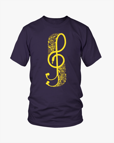Music Lover (Navy) - Ghimicelli