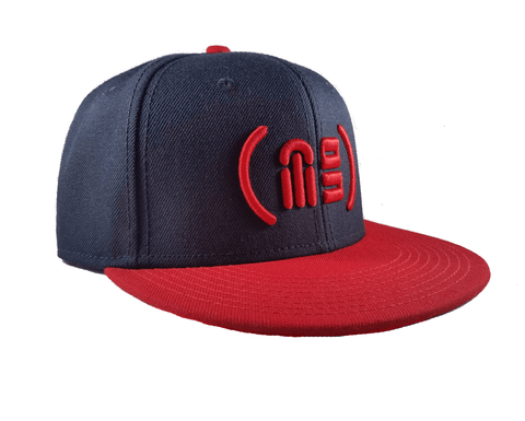 ( MG ) Parentheses Snapback - Red Blue - Ghimicelli