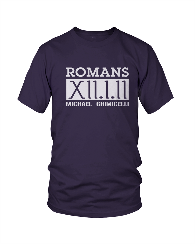 Romans 12 (Navy) - Ghimicelli