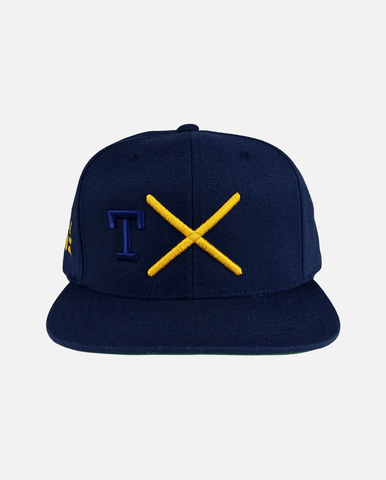 Texas Snapback Navy (Yellow) - Ghimicelli