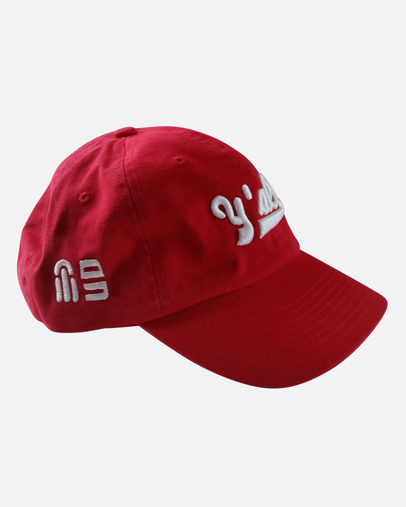 Y'all - Dad Hat - Women (Red) - Southern Anthem - Ghimicelli