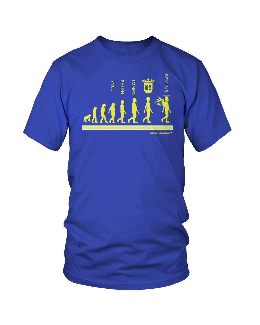 rEvolution (Yellow/Royal Blue) - Ghimicelli