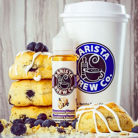 Barista Brew Co. - Cinnamon Glazed Blueberry Scone - 60ml