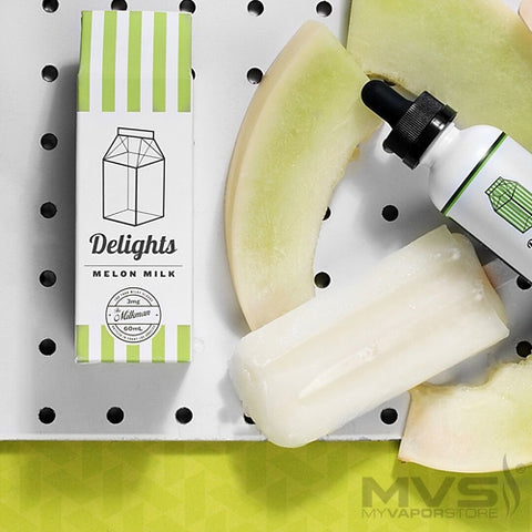 Milkman Delights- Melon Milk - 60ml