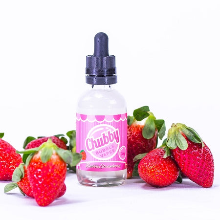 Chubby bubbles- bubble strawberry -60ml