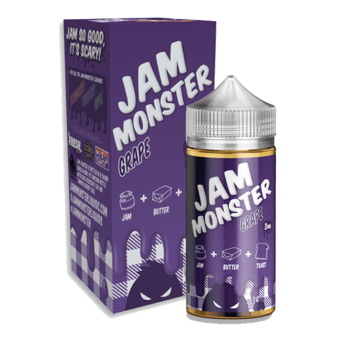 Jam Monster Grape Jam- 100ml