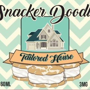 Tailored Vapors- snacker doodle - 60ml