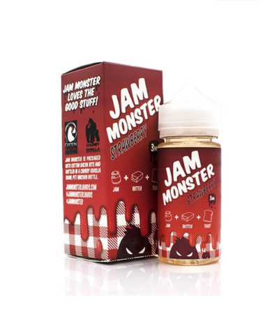 Jam Monster Strawberry jam- 100ml