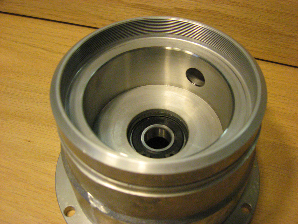 Swift Sleeved Grind Chamber with bearing