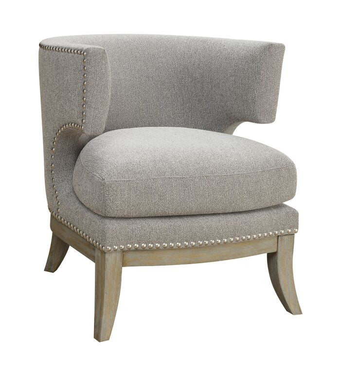 Laura Grey Accent Chair