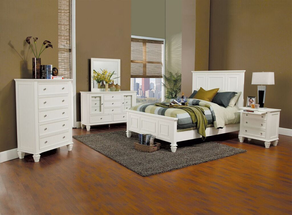 Glenmore Bedroom Collection (Black, Cappucino or White)