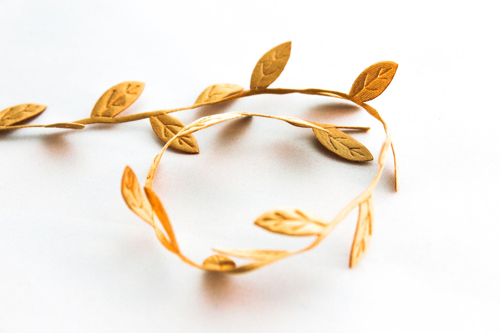 Gold Leaf Ribbon