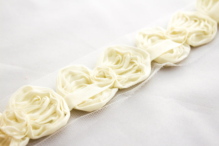 Petite Shabby Bow Trims - Peak Bloom