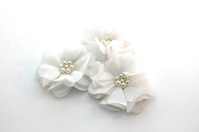Pearl Chiffon Flowers - Peak Bloom
