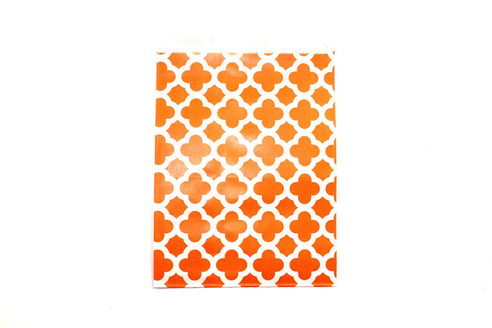 "Orange Favor Bags - 5"" x 7"" - Peak Bloom  - 1"